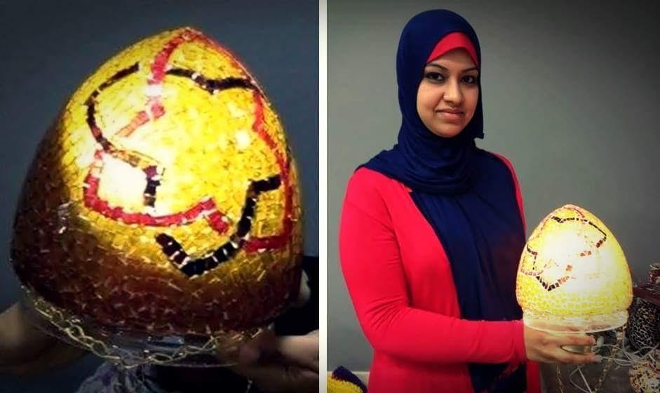 نتاج ورش العمل بالمتحف الفن الإسلامى