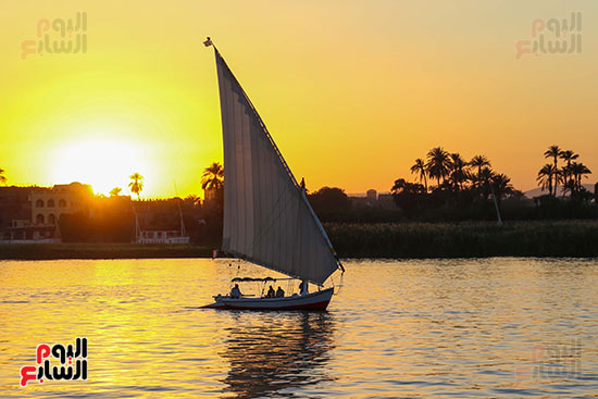 نهر النيل بالأقصر