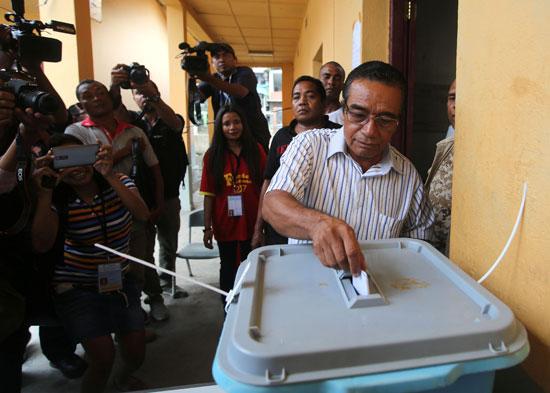 فرانسيسكو جوتيريس مرشح للرئاسة تيمور الشرقية