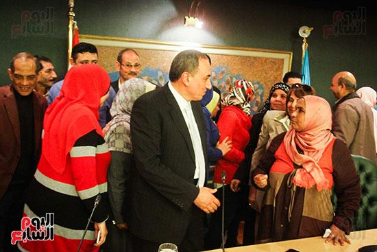 نقيب الصحفيين  عبد المحسن سلامة فى نقابة الصحفين (6)