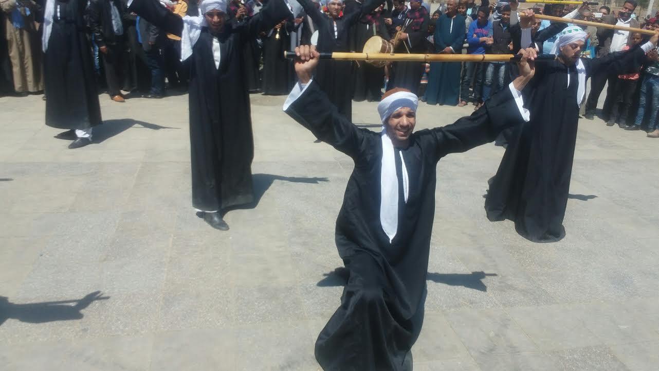كرنفال شعبى بميادين محافظة الأقصر