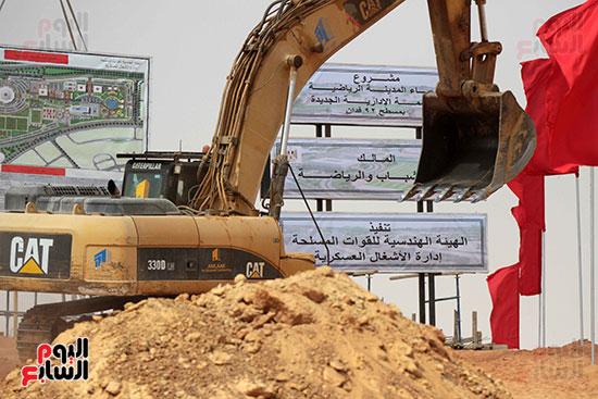 الأوناش فى العاصمة الإدارية