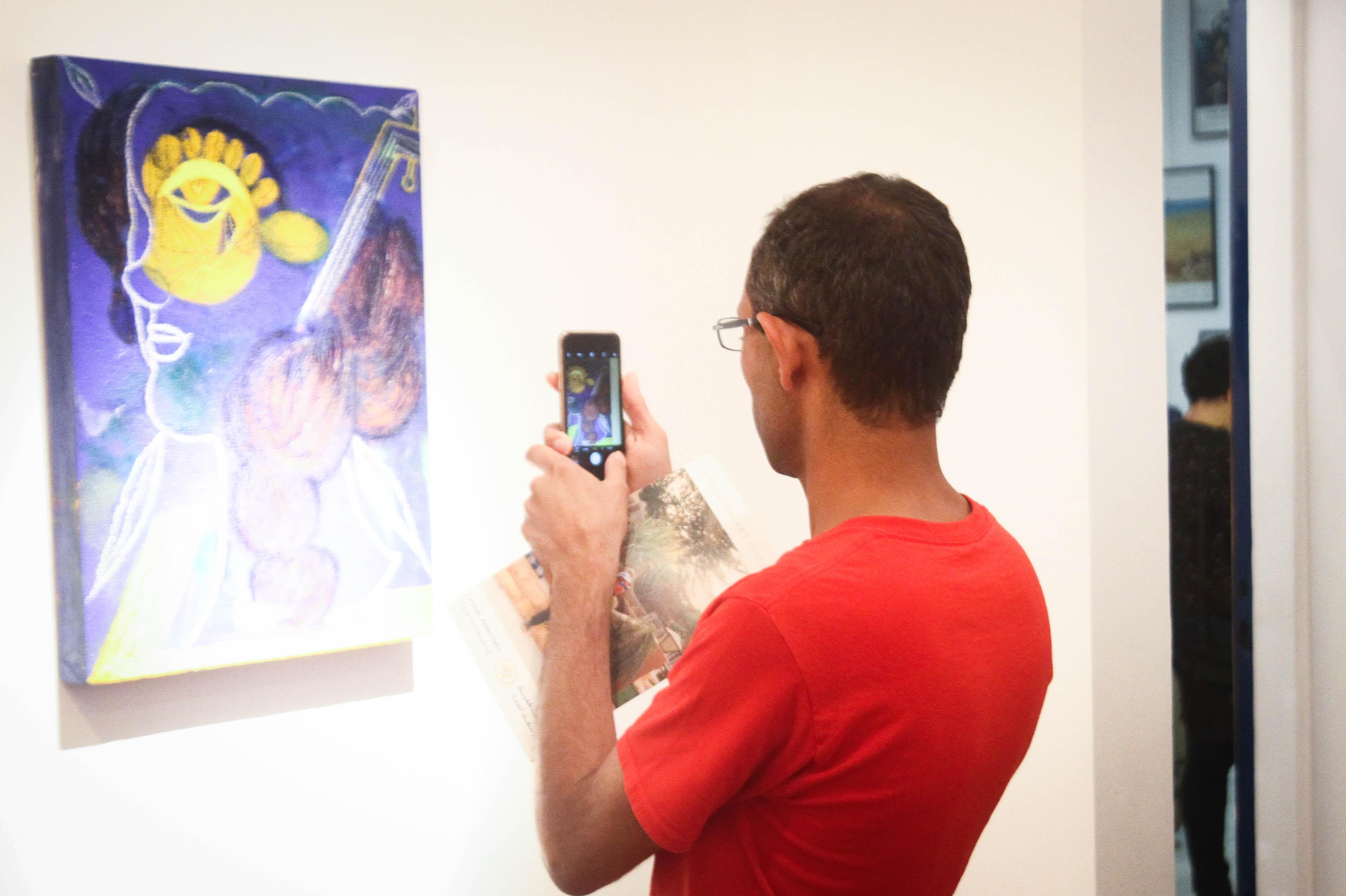معرض مصر ستعاود العطاء للفنان فرغى عبد الحفيظ (5)