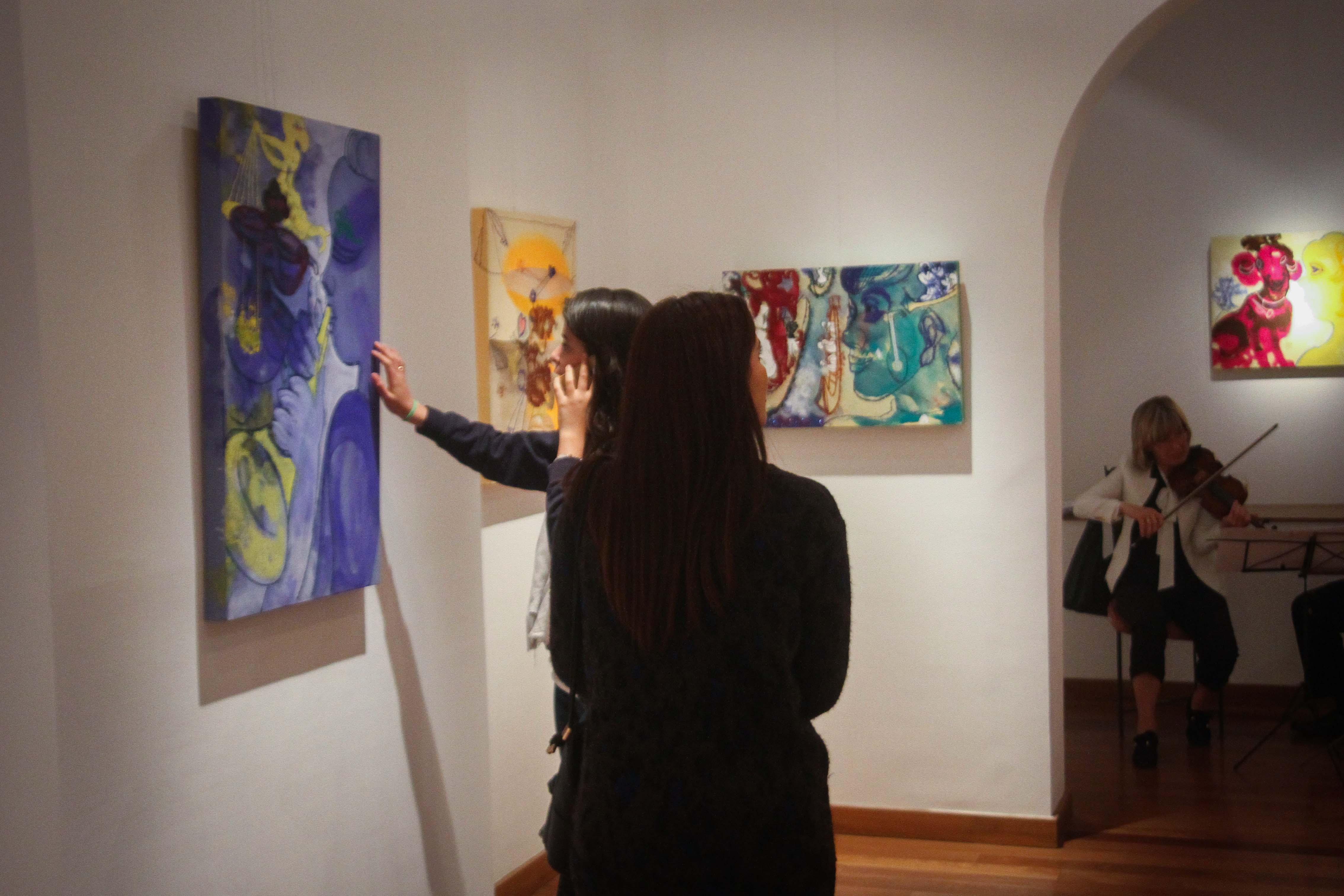 معرض مصر ستعاود العطاء للفنان فرغى عبد الحفيظ (8)