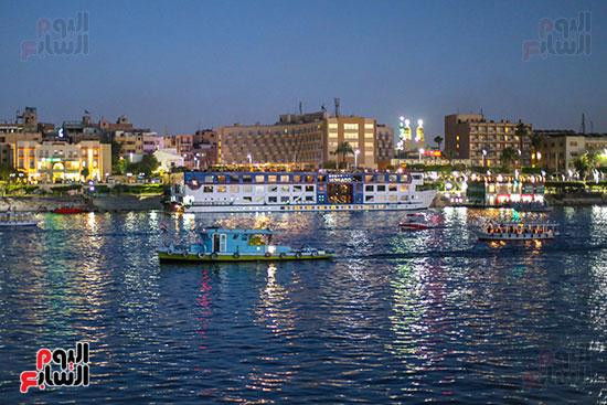 جمال وسحر نهر النيل بالأقصر