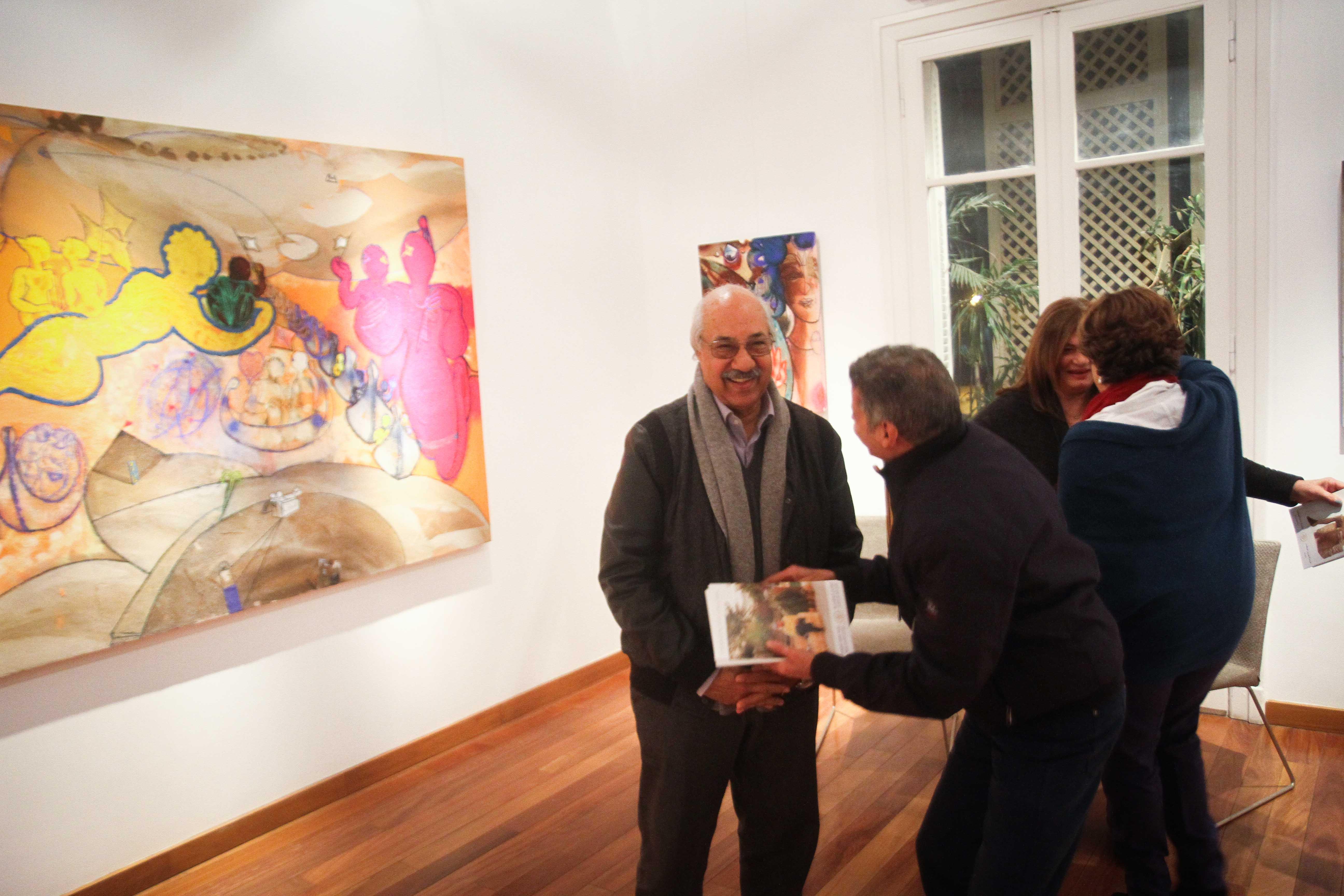 معرض مصر ستعاود العطاء للفنان فرغى عبد الحفيظ (1)