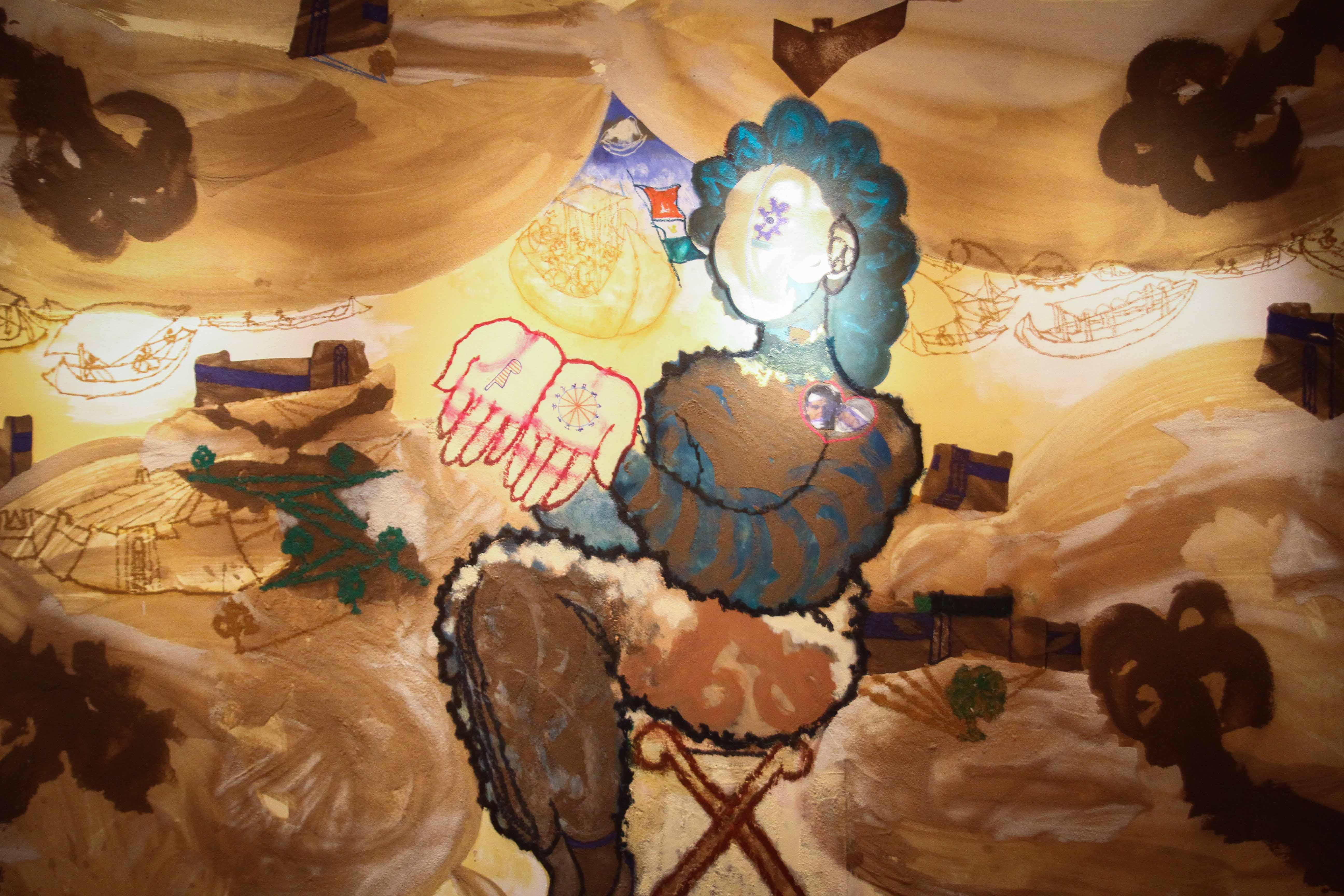 معرض مصر ستعاود العطاء للفنان فرغى عبد الحفيظ (7)