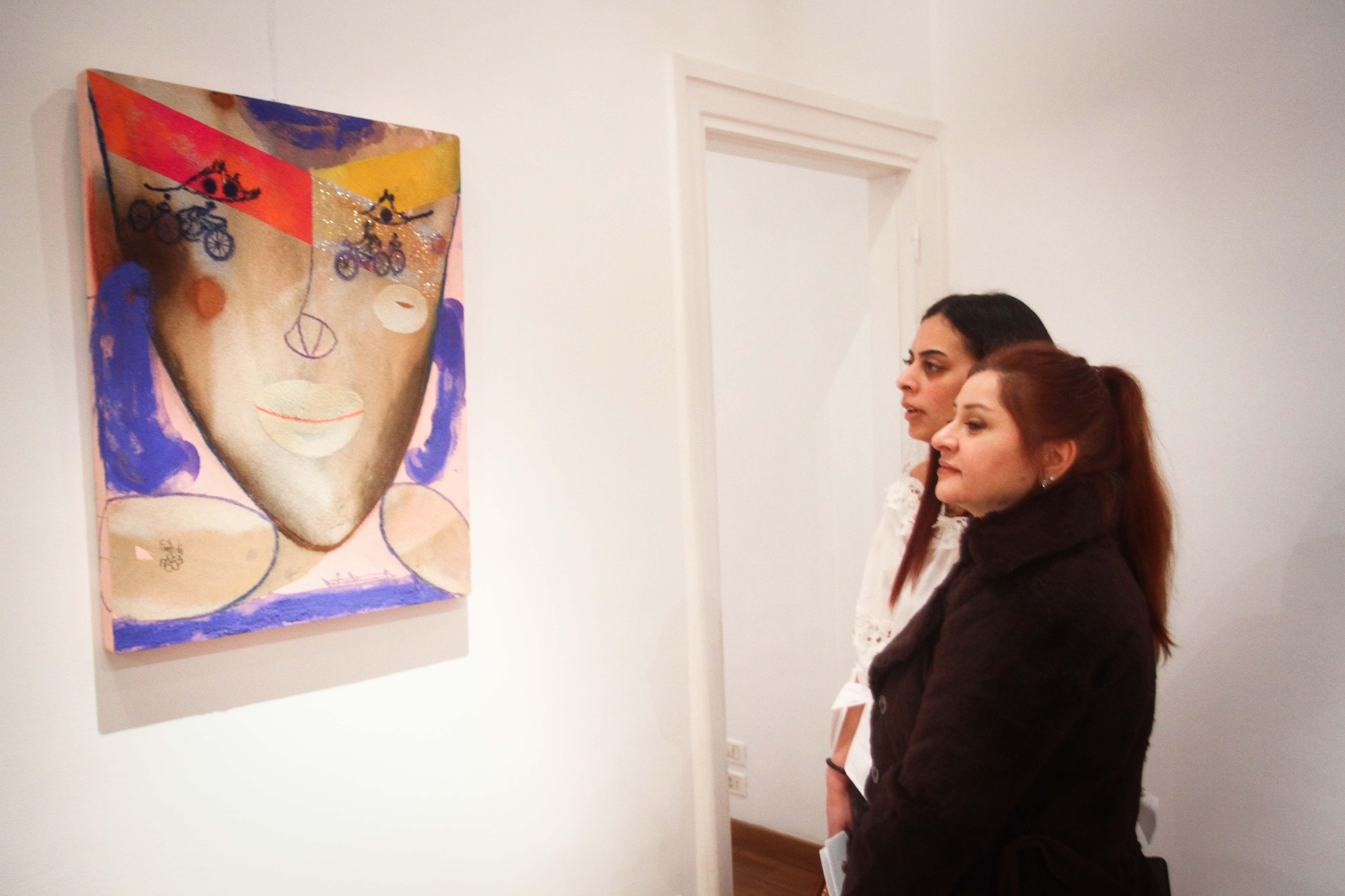 معرض مصر ستعاود العطاء للفنان فرغى عبد الحفيظ (17)