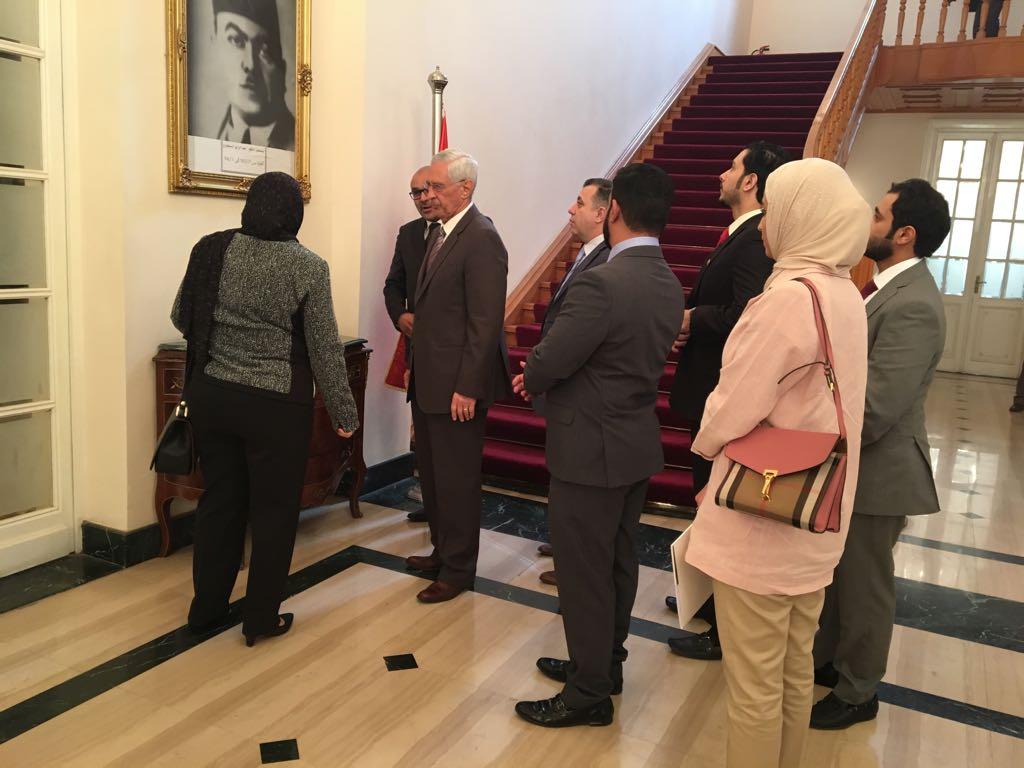 .. أول تفعيل لبرتوكول التعاون بين مجلس الدولة المصري ومملكة البحرين (1)
