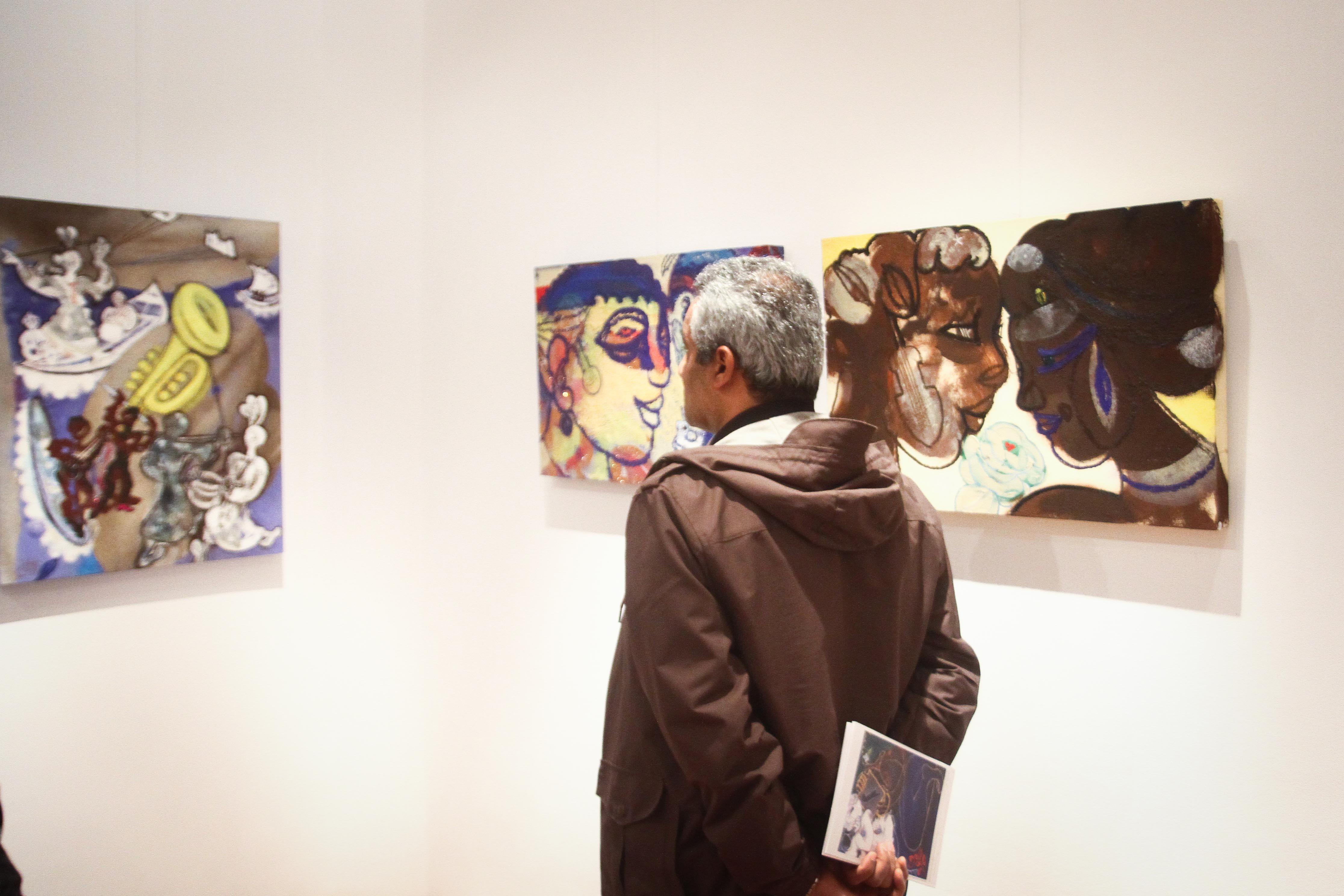 معرض مصر ستعاود العطاء للفنان فرغى عبد الحفيظ (4)