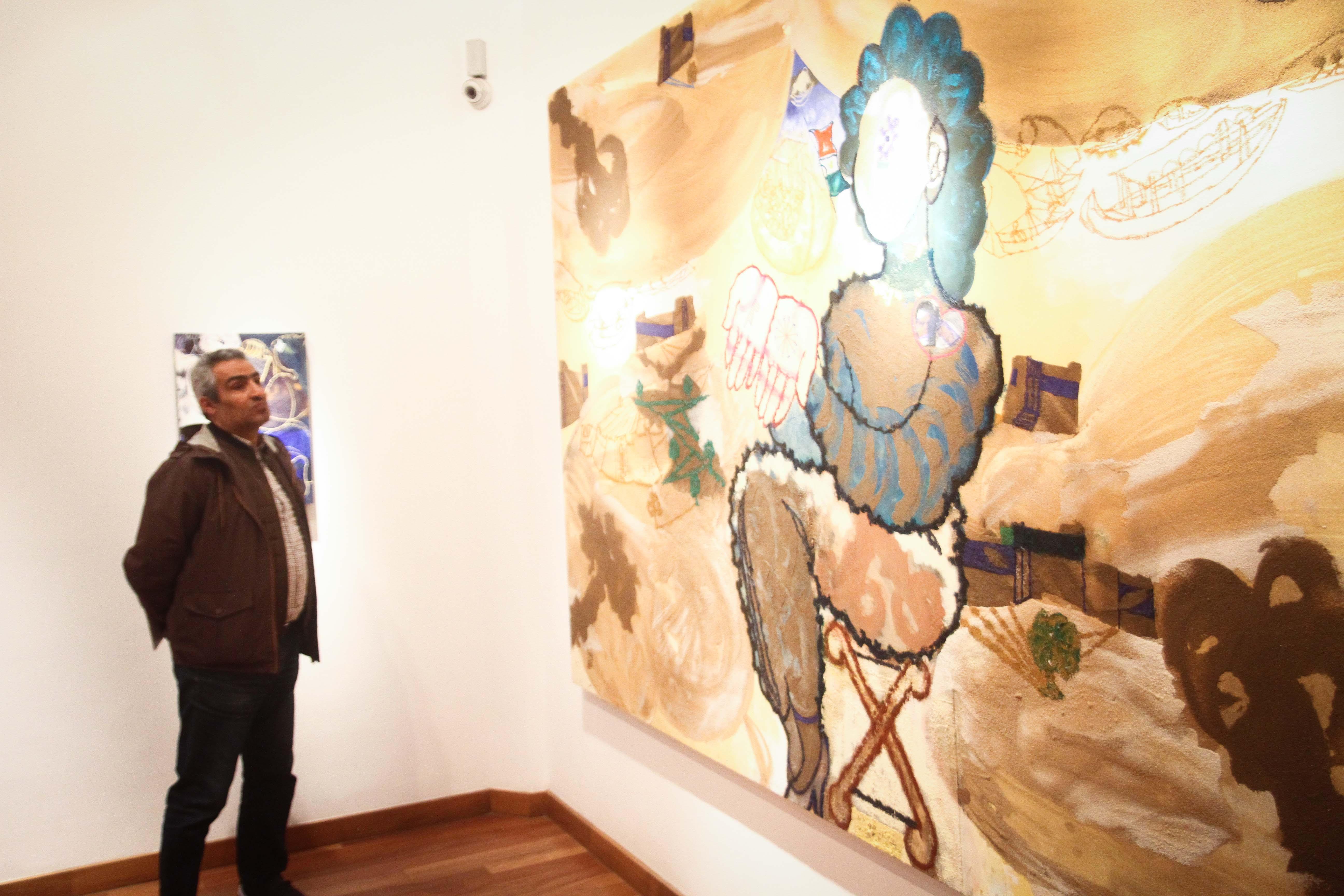 معرض مصر ستعاود العطاء للفنان فرغى عبد الحفيظ (13)