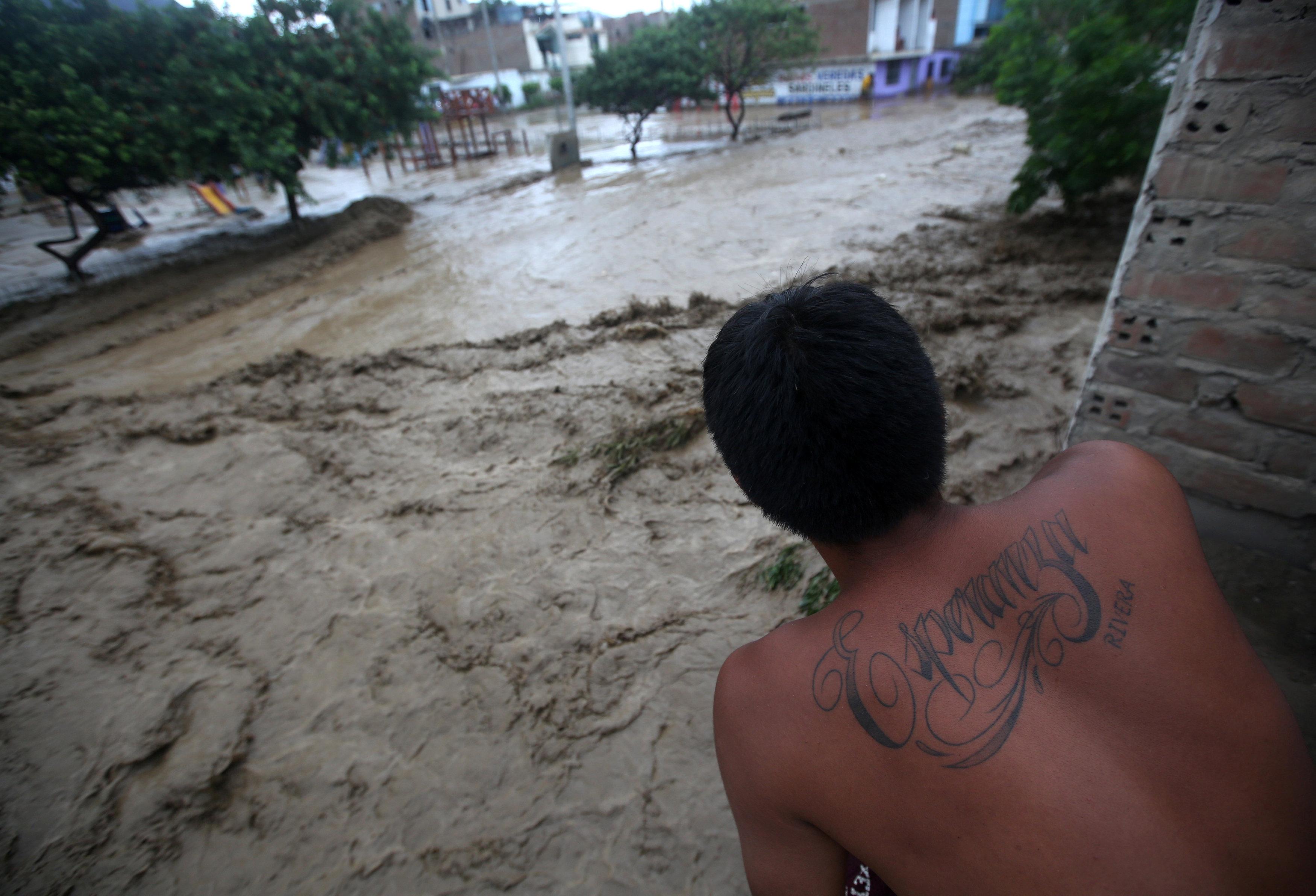 مياة السيول