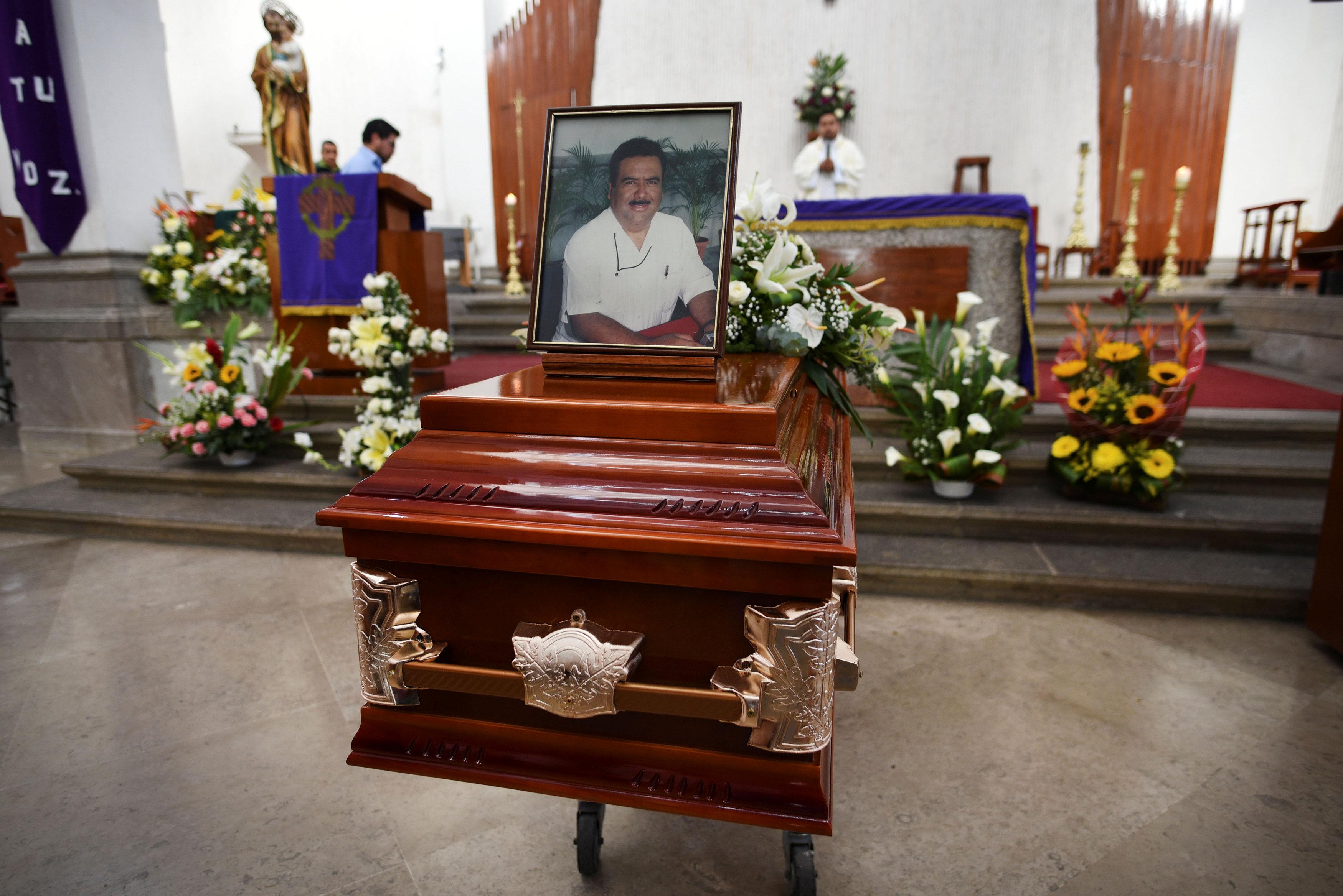 جنازة ريكاردو مونلوى