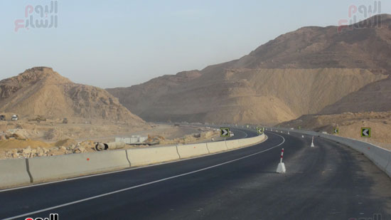 الطريق المؤدي لجبل الجلالة
