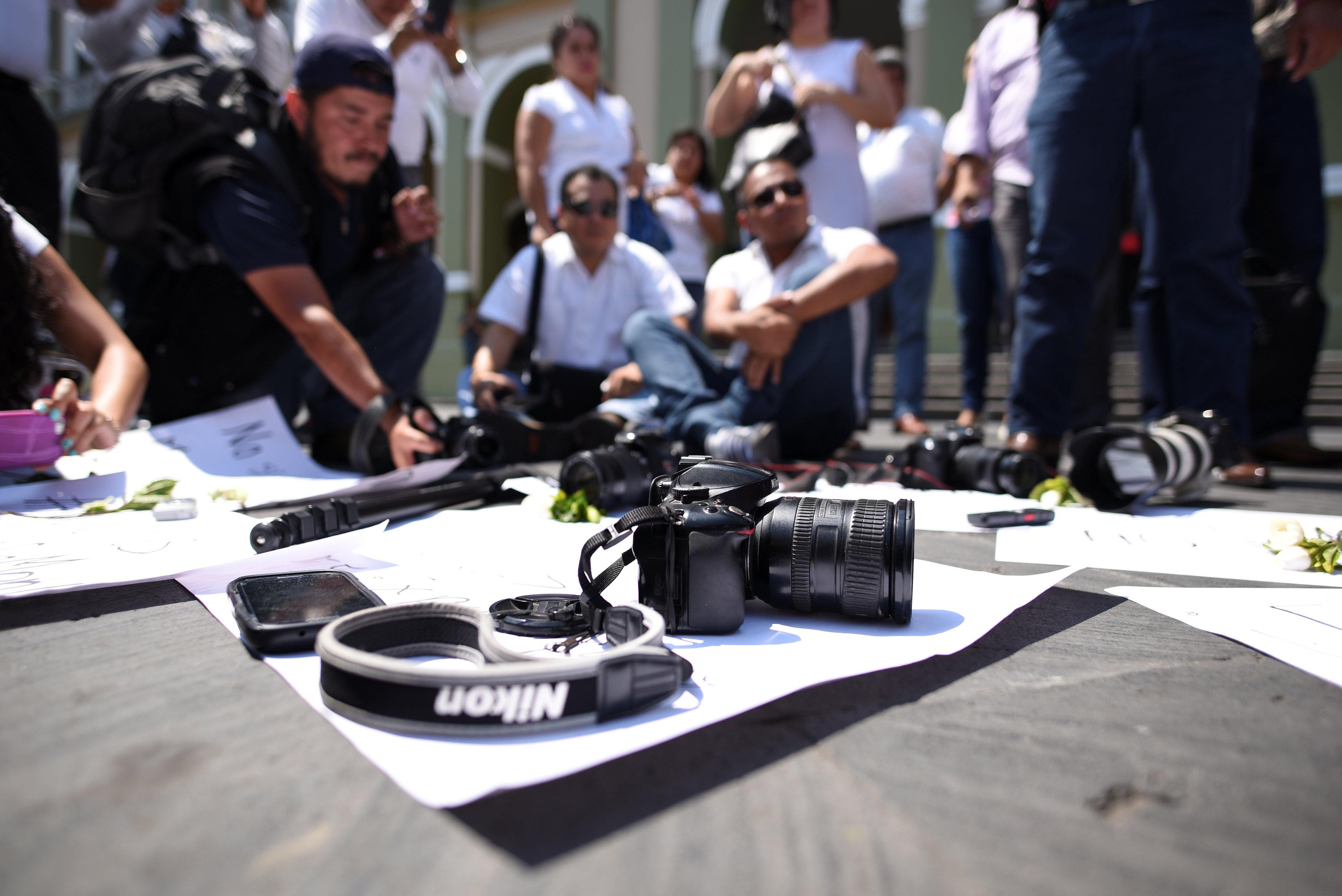 مظاهرات للصحفيين