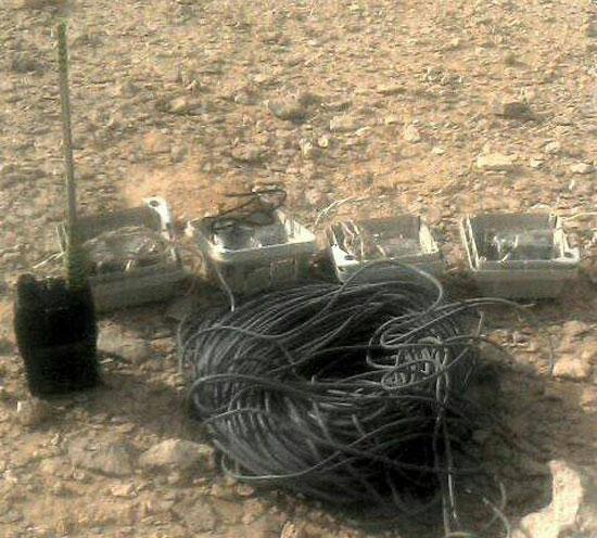 القوات المسلحة تدمر مخازن اسلحة  (3)