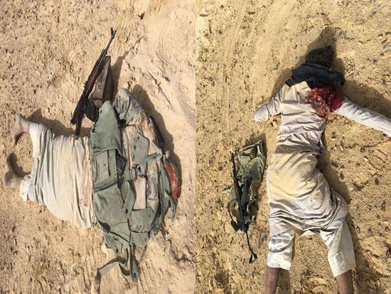 القوات المسلحة تدمر مخازن اسلحة  (9)