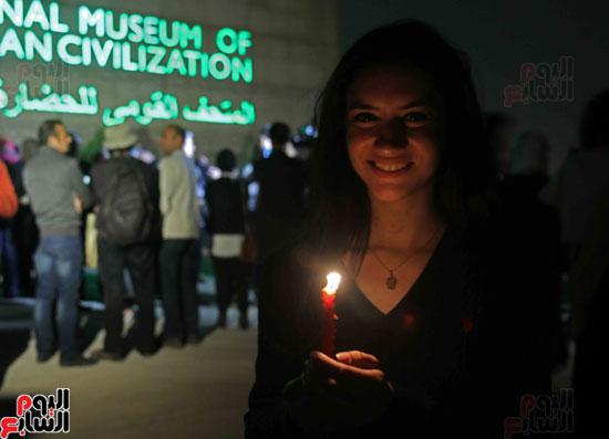 ساعة الأرض فى متحف الحضارة المصرية (8)
