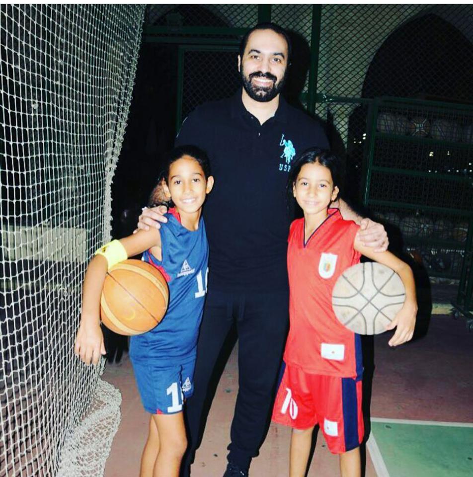 جمال حمزة و بناته