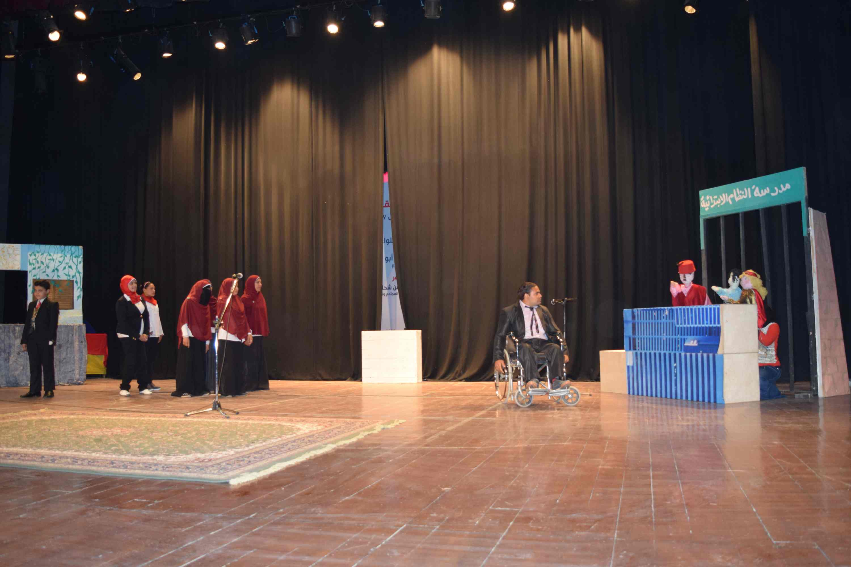 فعاليات المؤتمر الدولي الأول لذوى الاحتياجات الخاصة (5)