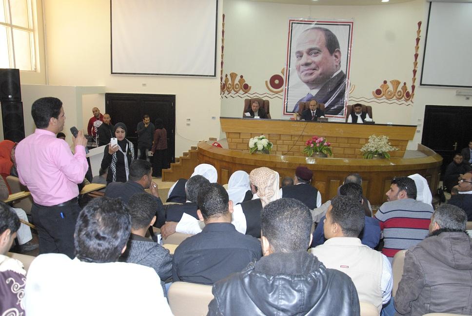محافظ مطروح يعقد المؤتمر الوطنى الثانى للشباب