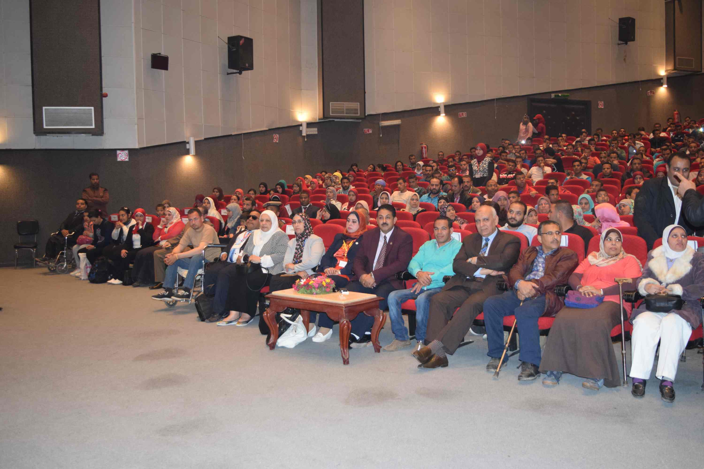 فعاليات المؤتمر الدولي الأول لذوى الاحتياجات الخاصة (2)