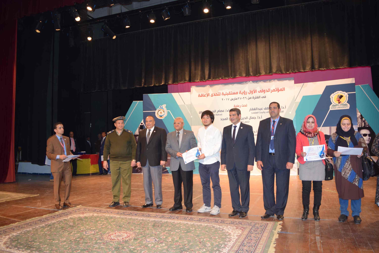 فعاليات المؤتمر الدولي الأول لذوى الاحتياجات الخاصة (9)