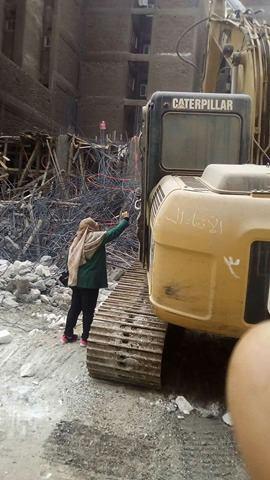 إزالة مباني مخالفة بحي شرق أسيوط (4)