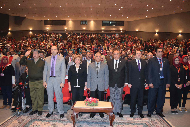 فعاليات المؤتمر الدولي الأول لذوى الاحتياجات الخاصة (1)