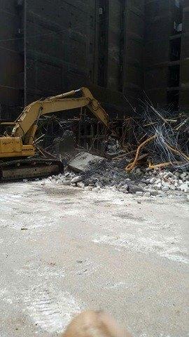 إزالة مباني مخالفة بحي شرق أسيوط (3)