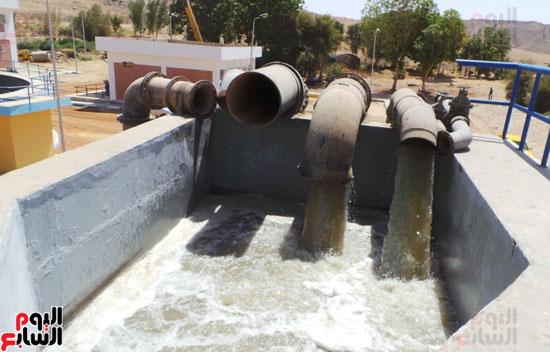 مواسير نقل مياه الصرف الصحى