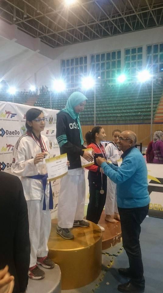 مركز شباب القنطرة غرب يحصد 5 ميداليات ذهبية فى بطولة الجمهورية للتايكوندو (5)