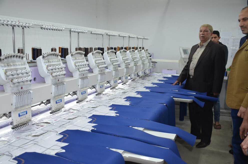 6- ماكينات مصنع الملابس