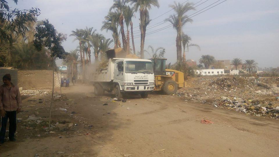 حملة نظافة بالغنايم  (3)