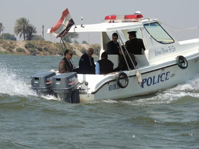 قوات الامن تمشط نهر النيل