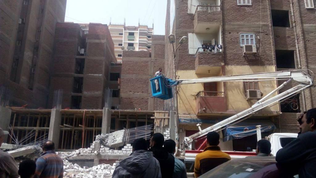 إزالة مباني مخالفة بحي شرق أسيوط (2)