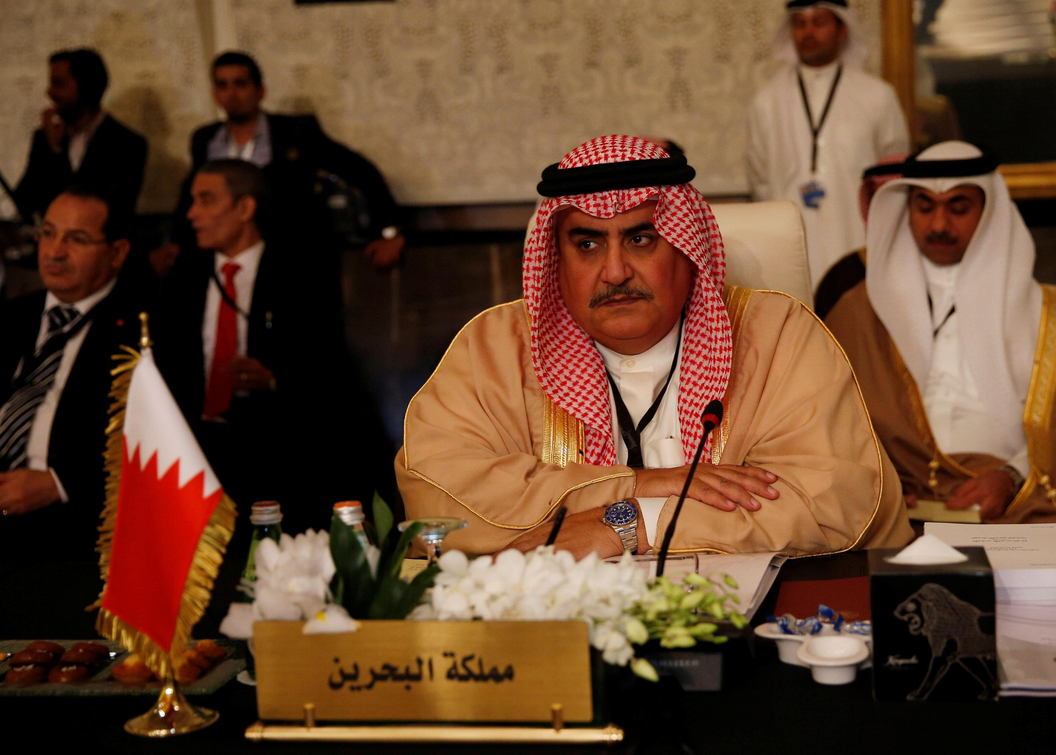 وزير الخارجية البحريني خالد بن أحمد آل خليفة