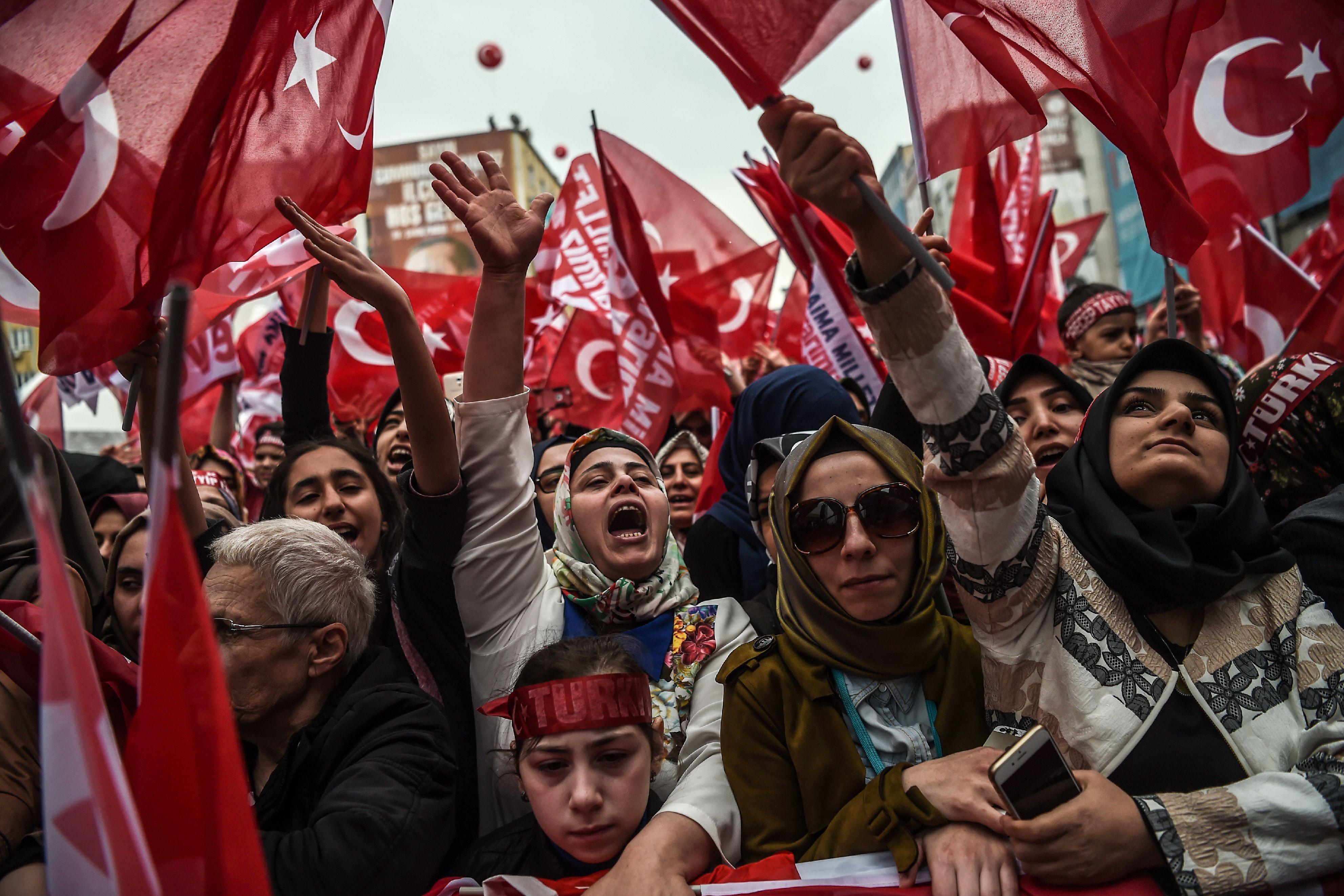 نساء أتراك