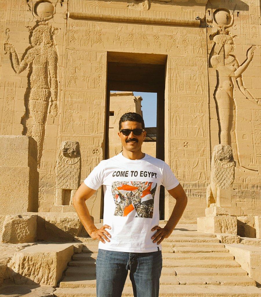 خالد النبوى يدعو السياح لزيارة مصر من أسوان (1)