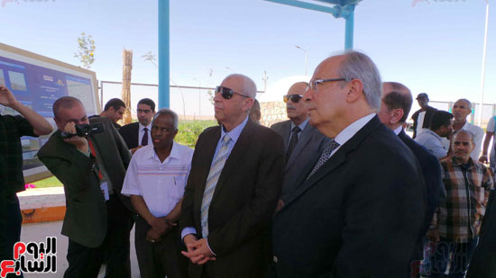 وزير التنمية المحلية يزور وادى كركر النوبية