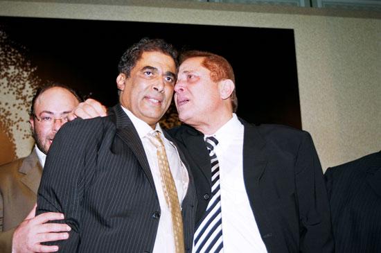 محمود عبد العزيز وأحمد وزكى