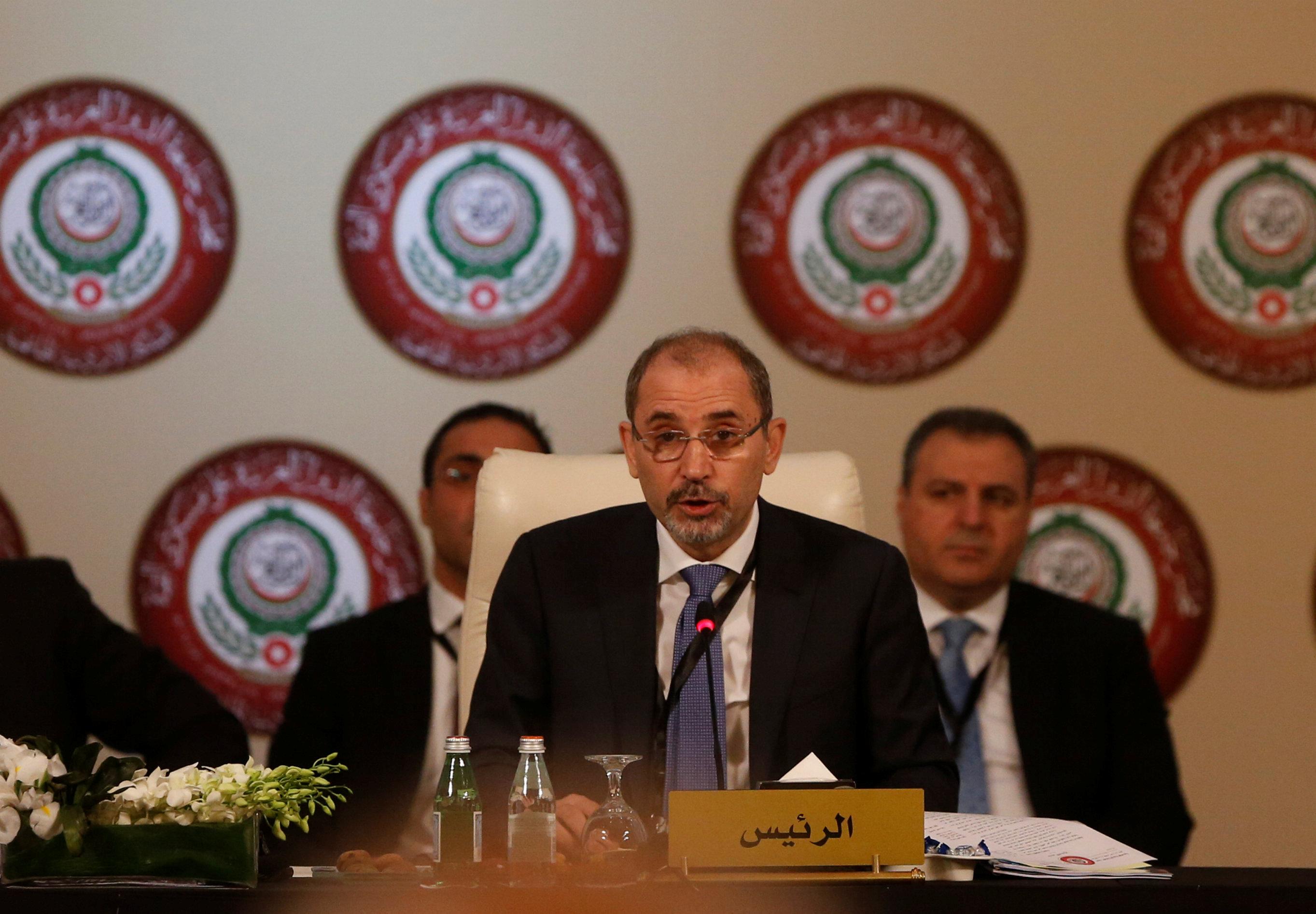 وزير الخارجية الأردني أيمن الصفتي