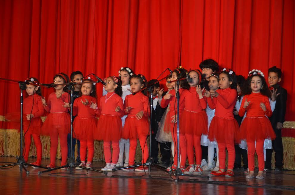 4-كورال الأطفال  اثناء الإحتفال