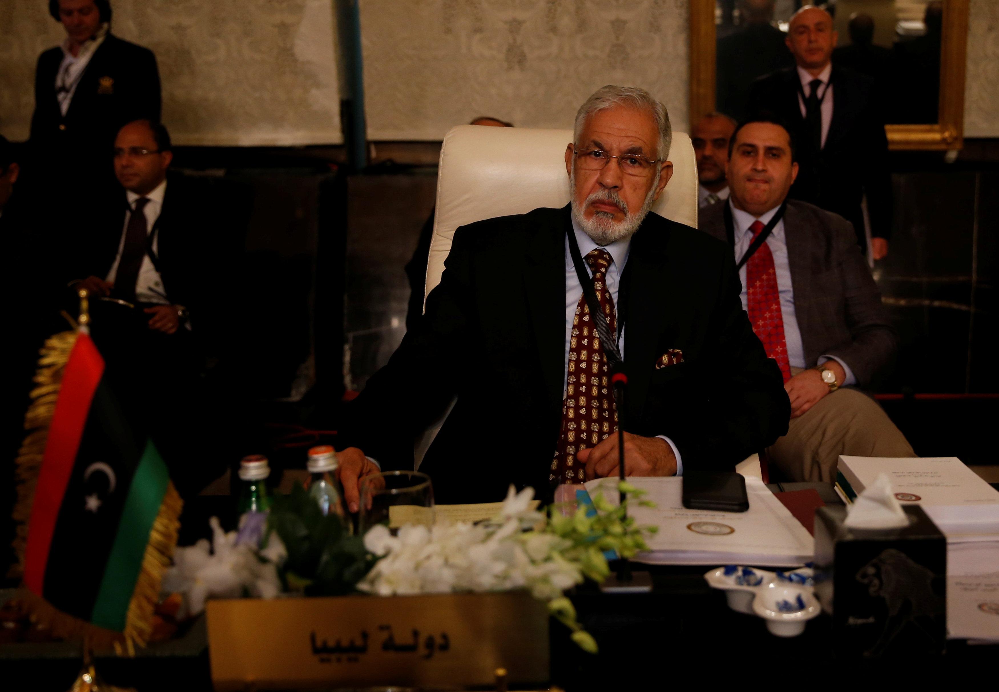 وزير الخارجية الليبي محمد طاهر