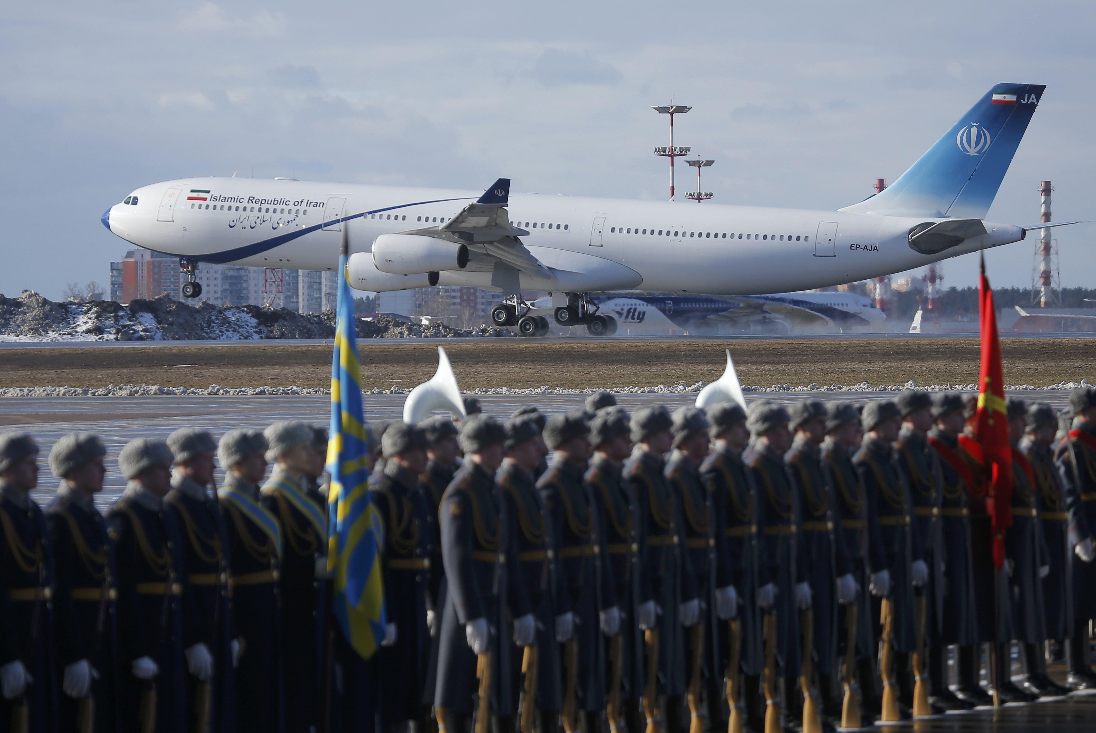 روحاني يصل روسيا (2)