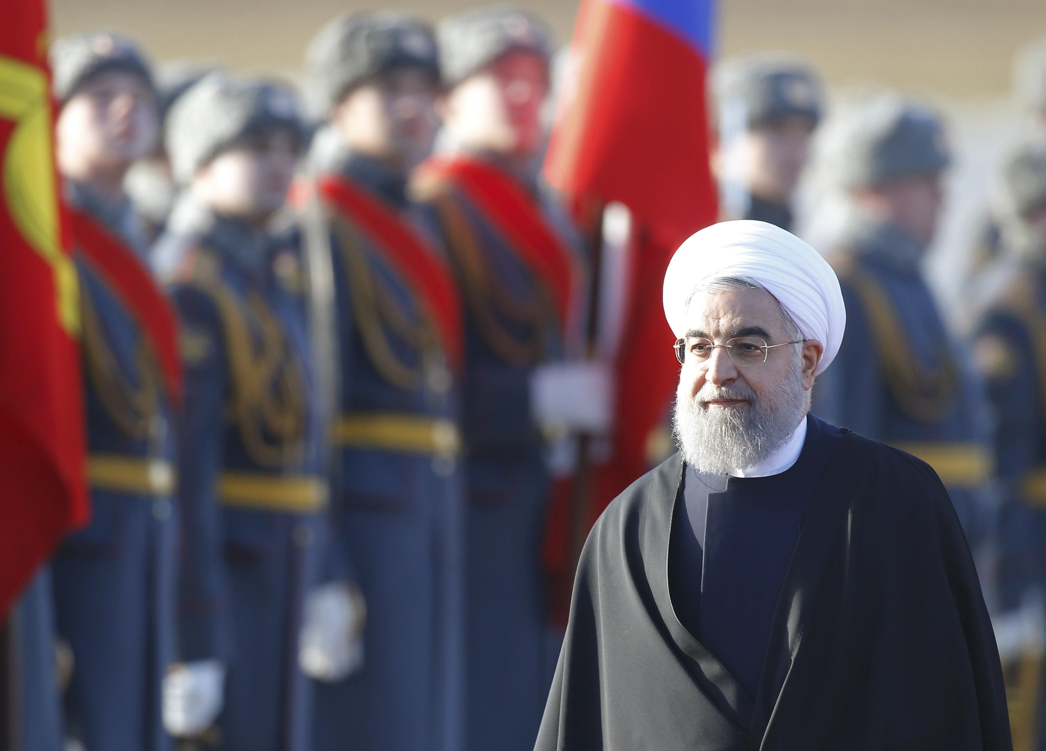 روحاني يصل روسيا (4)