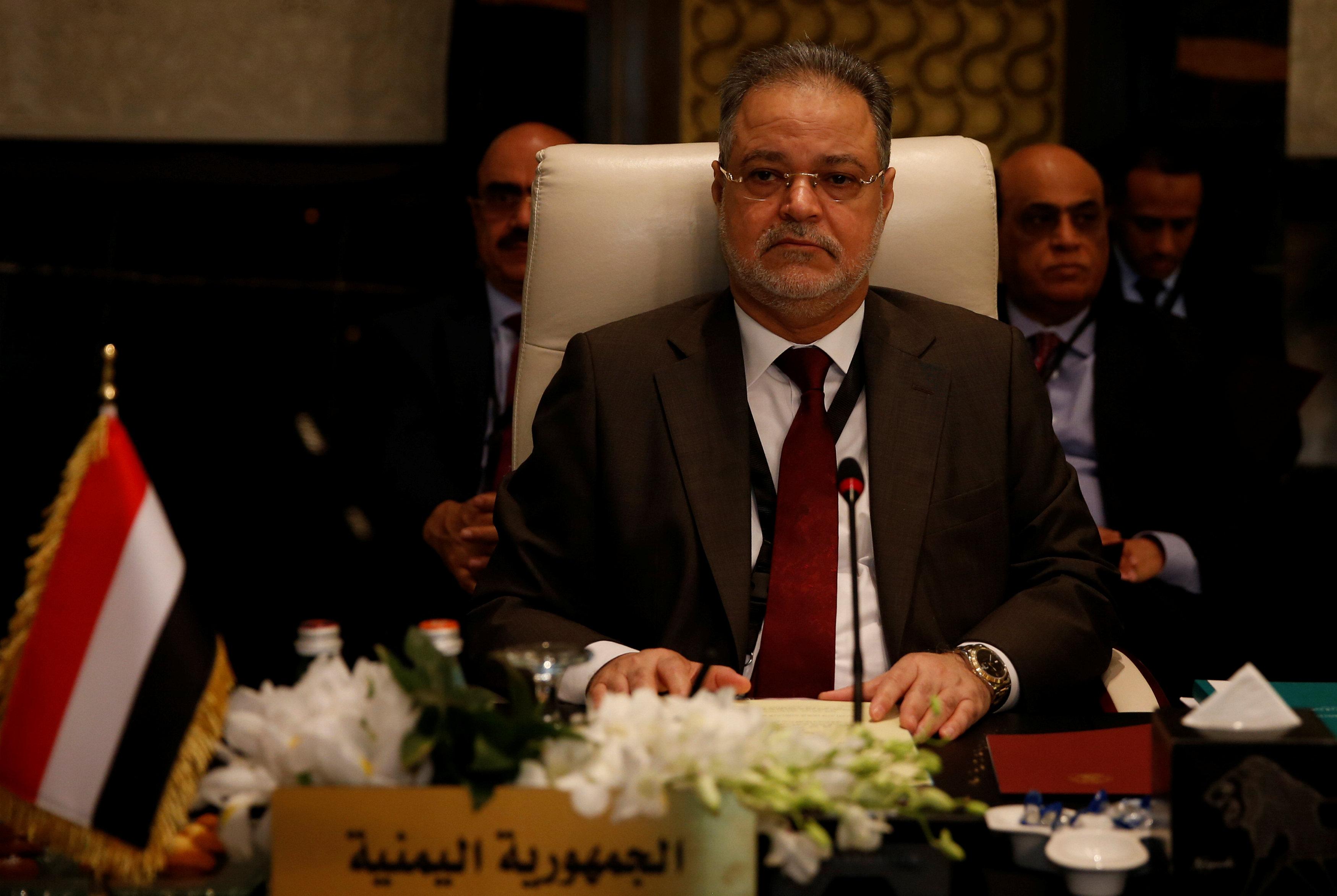 وزير الخارجية اليمني عبد المالك المخلافي