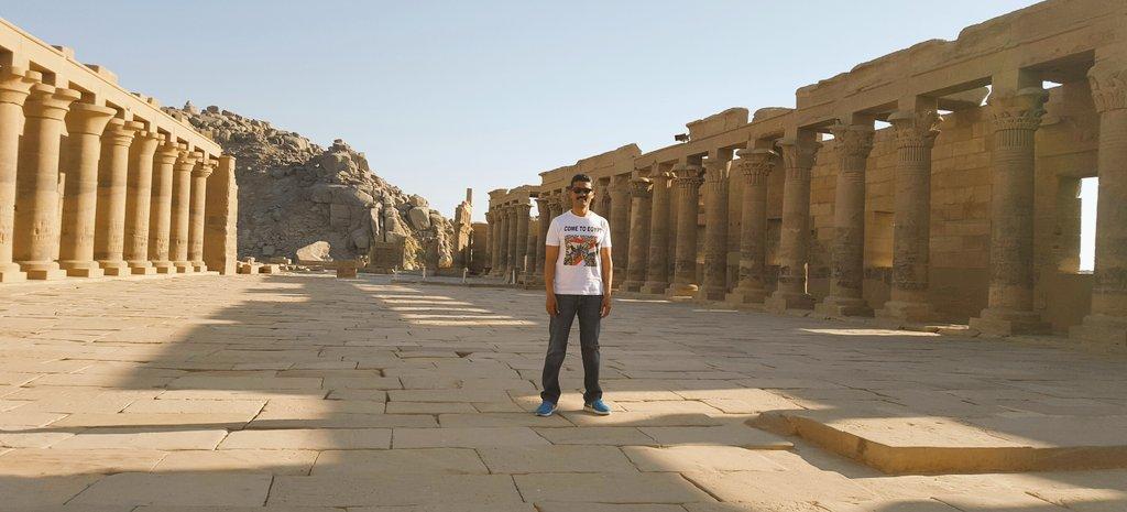 خالد النبوى يدعو السياح لزيارة مصر من أسوان (4)