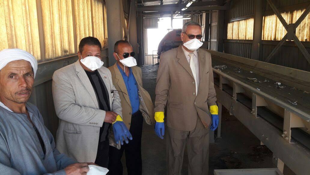 إمصنع تدوير القمامة بملوي بالمنيا