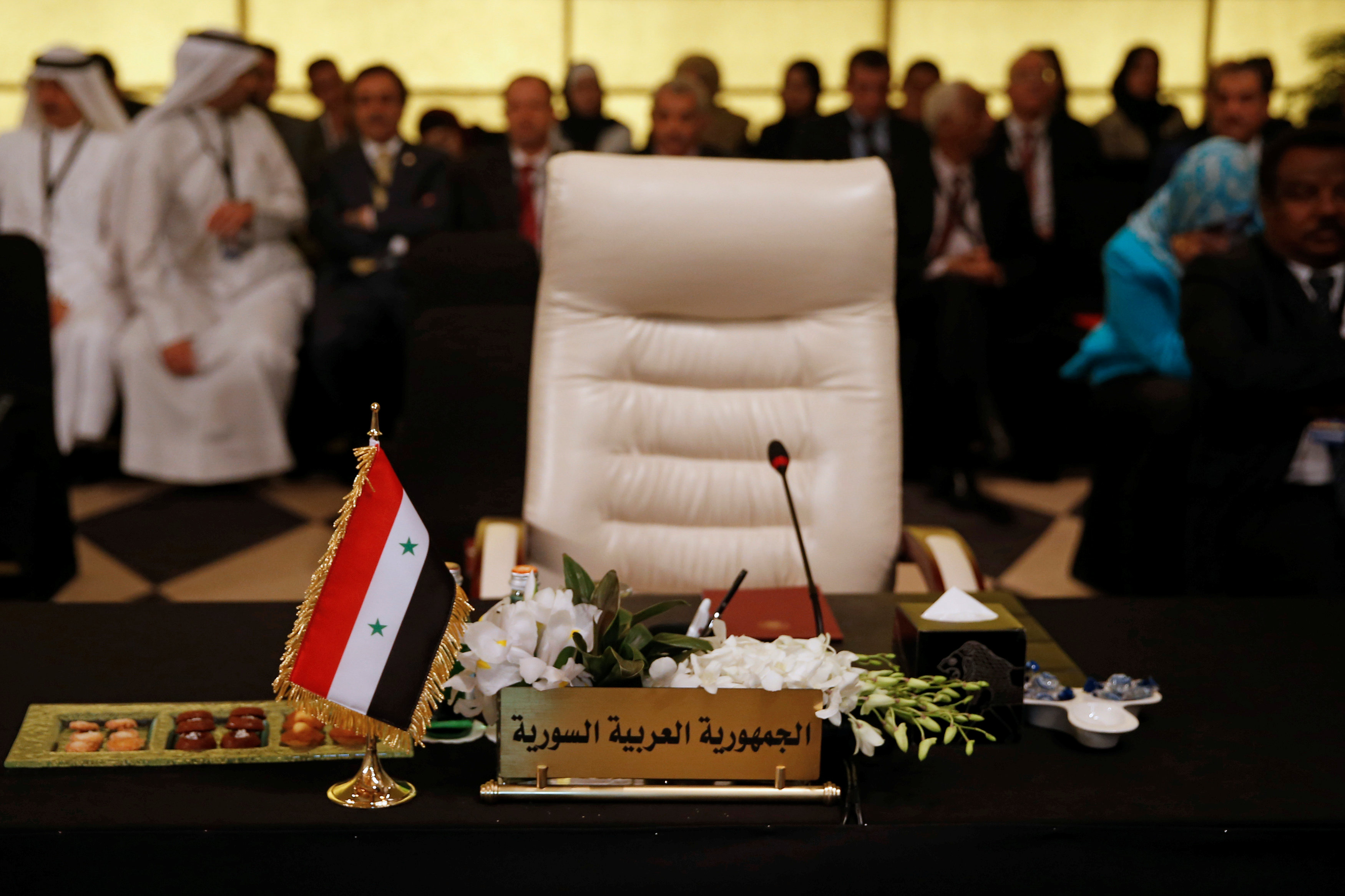 مقعد سوريا خالي في القمة العربية